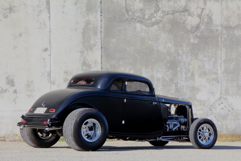 The Schimanski 1934 Ford Coupe Kruzin Kustoms Limited