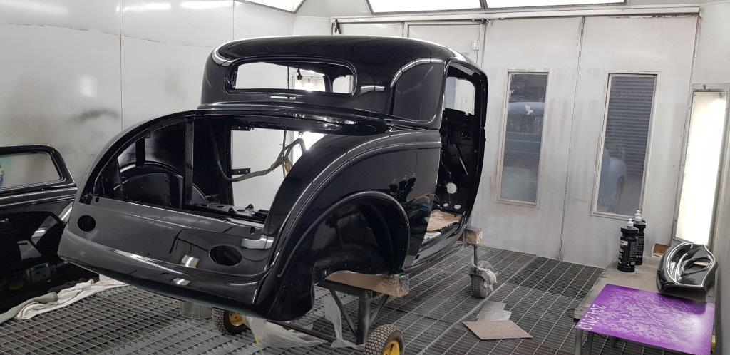 Black Betty 1932 Ford 3 Window Coupe ::  Hot Rod Specialists