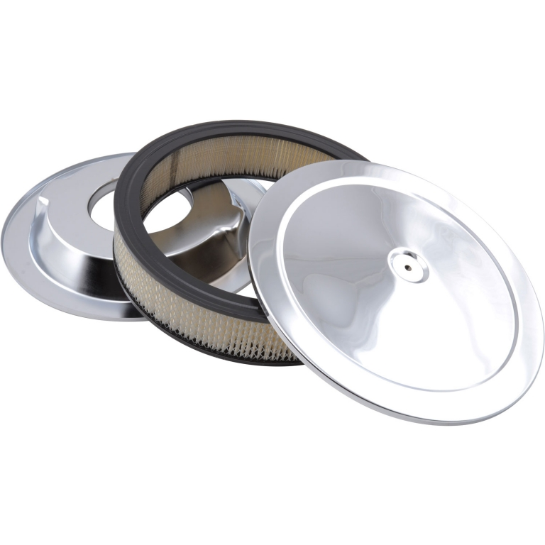 Muscle Car Engine Air Cleaners : Round muscle car style top air cleaner set quot